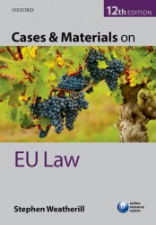 Cases & Materials on EU Law